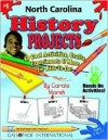 North Carolina History Projects: 30 Cool, Activities, Crafts, Experiments & More For Kids To Do To Learn About Your State (North Carolina Experience) - Carole Marsh