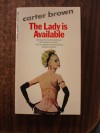 The Lady Is Available - Carter Brown