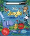 Wipe-Clean Jungle: Number Fun: With Pen and Wipe-Clean Fold-Out Pages - Ben Adams, Sarah Pitt, Jeannette O'Toole