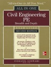 Civil Engineering All-In-One PE Exam Guide: Breadth and Deptcivil Engineering All-In-One PE Exam Guide: Breadth and Depth 2/E H 2/E - GOSWAMI, Indranil Goswami