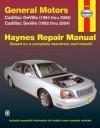 General Motors Cadillac DeVille (1994 thru 2005) Cadillac Seville (1992 thru 2005) - Ken Freund, Ken Freund