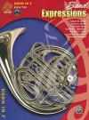 Band Expressions, Book Two Student Edition: Horn in F, Book & CD - Susan Smith, Michael Story, Robert Smith