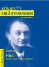 Hiob - Roman eines einfachen Mannes. Textanalyse und Interpretation - Martin Lowsky, Joseph Roth