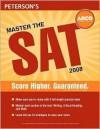 Master the SAT 2008 - Phil Pine, Margaret Moran, Wallie Walker-Hammond