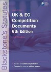Blackstone's UK and EC Competition Documents - Kirsty Middleton