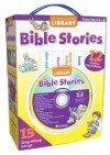 Bible Stories: 12 Chunky Board Books [With CD] - Kim Mitzo Thompson, Karen Mitzo Hilderbrand, Christine Della Penna