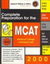 Complete Preparation for the MCAT 2000: Medical College Admissions Test - Lippincott Williams & Wilkins