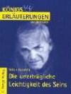 Milan Kundera, Die Unerträgliche Leichtigkeit Des Seins - Stefan Munaretto, Milan Kundera