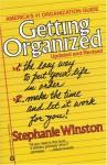 Getting Organized - Stephanie Winston