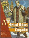 A Sherlock Holmes Companion - Peter Haining, Arthur Conan Doyle
