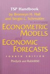 TSP Handbook to Accompany Econometric Models and Economic Forecasts - Robert S. Pindyck, Daniel L. Rubinfeld