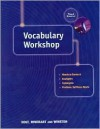 Vocabulary Workshop: Third Course (Elements Of Language) - Lee Odell, John E. Warriner