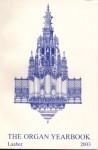 The Organ yearbook 2003 - Peter Williams