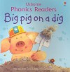 Big Pig on a Dig (Phonics Readers) - Phil Roxbee Cox, Stephen Cartwright
