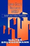 Using God's Resources Wisely - Walter Brueggemann