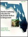 Florida Continuing Education for Real Estate Salespersons and Brokers - George Gaines Jr., David S. Coleman, Michelle N. Wootton