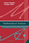 Mathematical Analysis: An Introduction to Functions of Several Variables - Mariano Giaquinta, Giuseppe Modica
