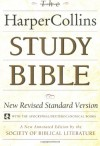 The HarperCollins Study Bible burgundy leather: New Revised Standard Version (with the Apocryphal/Deuterocanonical Books) - Wayne A. Meeks