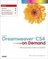 Adobe Dreamweaver CS4 on Demand - Steve Johnson