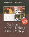 Study and Critical Thinking Skills in College - Kathleen T. McWhorter