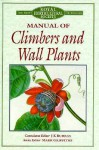 Manual of Climbers and Wall Plants - J.K. K. Burras, Mark Griffiths