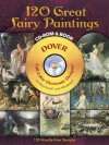 120 Great Fairy Paintings CD-ROM and Book - Jeff A. Menges