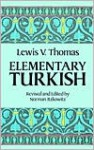 Elementary Turkish - Lewis V. Thomas