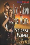 Too Grand for Words (Bookstrand Publishing Romance) - Natasza Waters