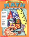 Scholastic Success With: Math Workbook: Grade 1 (Scholastic Success with Workbooks: Math) - Susan L. Lingo, Terry Cooper