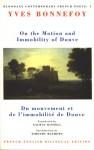 On The Motion And Immobility Of Douve =: Du Mouvement Et De L'immobilite De Douve (Bloodaxe Critical Anthologies) - Yves Bonnefoy