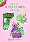 Alice in Wonderland Stickers - Sheilah Beckett