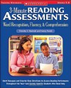 3-Minute Reading Assessments: Word Recognition, Fluency, and Comprehension: Grades 5-8 - Nancy Padak, Timothy V. Rasinski