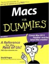 Macs For Dummies (For Dummies (Computers)) - David Pogue