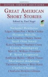 Great American Short Stories (Dover Thrift Editions) - Paul Negri