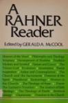 A Rahner Reader - Karl Rahner