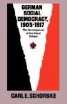 German Social Democracy, 1905-1917: The Development of the Great Schism - Carl E. Schorske