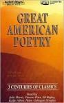 Great American Poetry - Julie Harris, Vincent Price, Ed Begley Jr., Eddie Albert