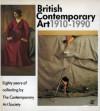British Contemporary Art - Alan Bowness, Richard Cork