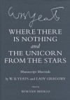 Where There is Nothing & The Unicorn from the Stars: Manuscript Materials - W.B. Yeats, Isabella Augusta Persse (Lady Gregory), Wim van Mierlo