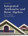 Integrated Arithmetic and Basic Algebra (5th Edition) - Bill E. Jordan, William P. Palow