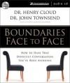 Boundaries Face to Face - Henry Cloud, John Townsend