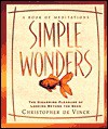 Simple Wonders: The Disarming Pleasure of Looking Beyond the Seen - Christopher de Vinck