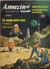 Amazing Stories, 1960 October - Cele Goldsmith, Clifford D. Simak, Lester del Rey, A. Bertram Chandler, J.F. Bone, Theodore L. Thomas, Norman N. Lobsenz