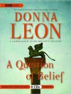 A Question of Belief (MP3 Book) - Donna Leon, David Colacci