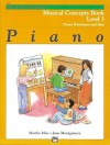 Alfred's Basic Piano Course Musical Concepts, Bk 3 - Alfred Publishing Company Inc.