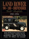 Land Rover 90 110 Defender: Gold Portfolio 1983-1994 - R.M. Clarke