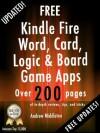 Free Kindle Fire Word, Card, Logic, And Board Game Apps (Free Kindle Fire Apps That Don't Suck) - The App Bible