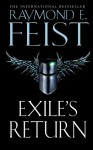 Exile's Return (Conclave Of Shadows) - Raymond E. Feist