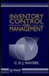 Inventory Control and Management - C.D.J. Waters, Donald Waters