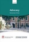 Advocacy 2008-2009: The City Law School - Robert McPeake